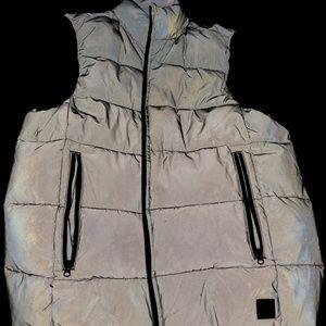 Childrens Silver reflector vest